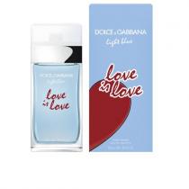 DOLCE & GABBANA LIGHT BLUE LOVE IS LOVE 3.4 EAU DE TOILETTE SPRAY FOR WOMEN
