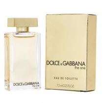 DOLCE & GABBANA THE ONE 0.25 OZ EAU DE TOILETTE MINI FOR WOMEN