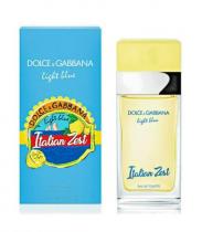 DOLCE & GABBANA LIGHT BLUE ITALIAN ZEST 1.7 EAU DE TOILETTE SPRAY FOR WOMEN