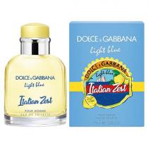 DOLCE & GABBANA LIGHT BLUE ITALIAN ZEST 2.5 EAU DE TOILETTE SPRAY FOR MEN