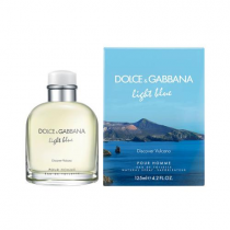 DOLCE & GABBANA LIGHT BLUE DISCOVER VULCANO 4.2 EDT SP FOR MEN