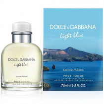 DOLCE & GABBANA LIGHT BLUE DISCOVER VULCANO 2.5 EDT SP