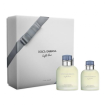 DOLCE & GABBANA LIGHT BLUE 2 PCS SET FOR MEN: 4.2 SP