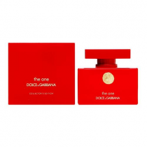 DOLCE & GABBANA THE ONE COLLECTOR'S EDITION 2.5 EDP SP FOR WOMEN (RED)