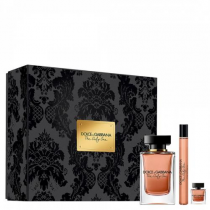 DOLCE & GABBANA THE ONLY ONE 3 PCS SET FOR WOMEN: 3.4 EAU DE PARFUM + 0.33 EAU DE PARFUM + 0.25 EAU DE PARFUM