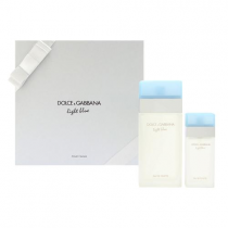 DOLCE & GABBANA LIGHT BLUE 2 PCS SET FOR WOMEN: 3.4 SP