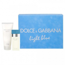 DOLCE & GABBANA LIGHT BLUE 2 PCS SET FOR WOMEN: 0.84 SP