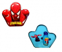 SPIDERMAN AMAZING 3 PCS SET: 1.7 EDT SP + TOPPER + METAL BOX
