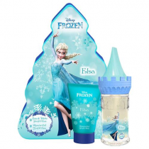 DISNEY FROZEN ELSA CASTLE TIN 2 PCS SET: 1.7 SP