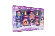 DISNEY PRINCESS 8 PCS COLLECTION SET: 4*1OZ SP + 4 FIG