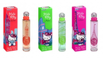 HELLO KITTY 3 PCS * 1.7  EDT SP CITY COLLECTION SET: IN ROME, IN PARIS, IN LONDON