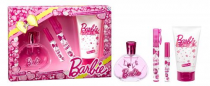 BARBIE 4 PCS SET: 3.4 EDT SP
