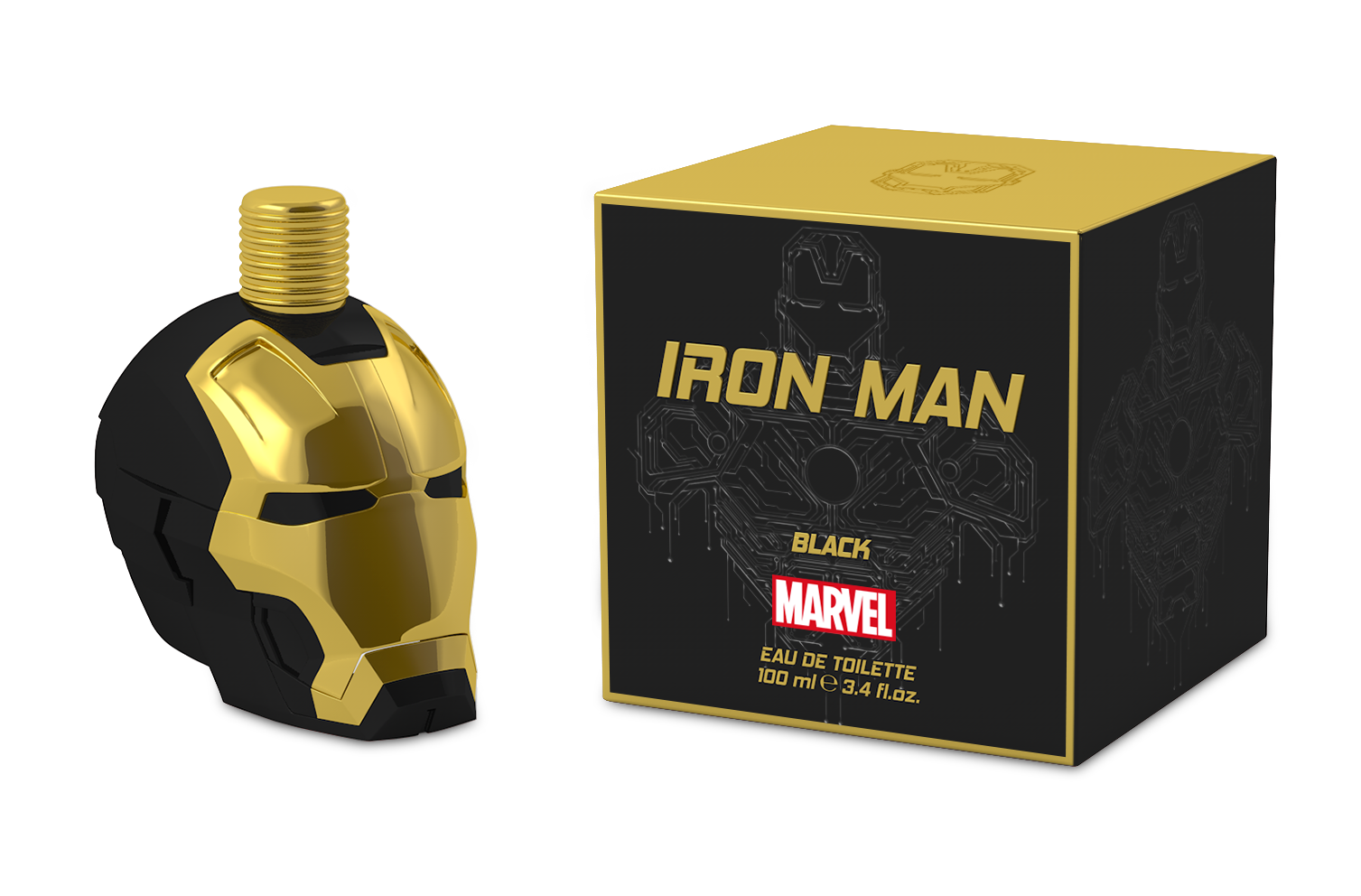 MARVEL IRON MAN BLACK 3.4 EDT SP