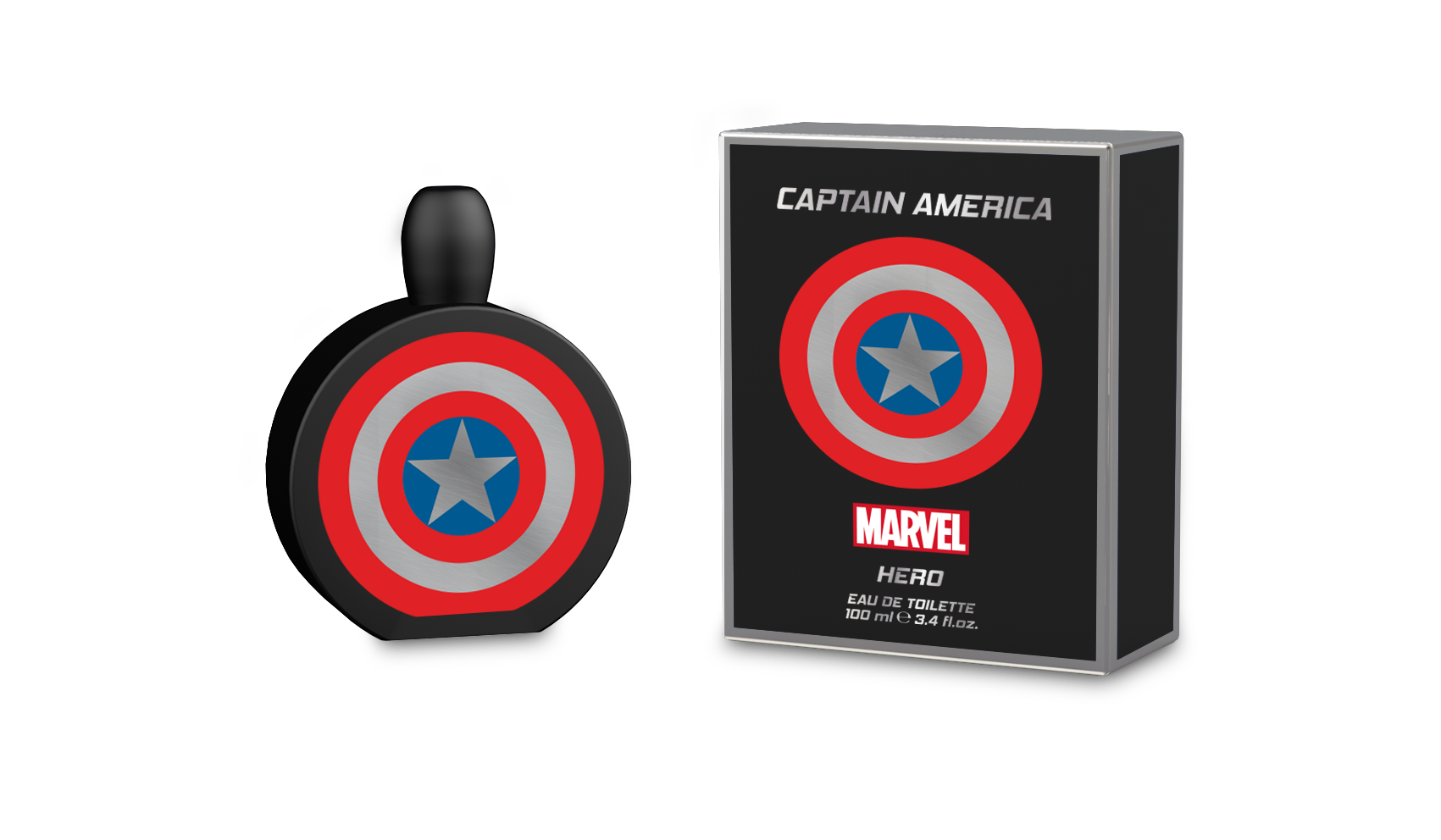 MARVEL CAPTAIN AMERICA HERO 3.4 EDT SP