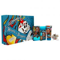 ED HARDY HEARTS & DAGGERS 5 PCS SET FOR MEN: 3.4 SP
