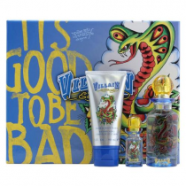 ED HARDY VILLAIN 3 PCS SET FOR MEN: 2.5 SP