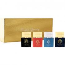 ENGLISH LAUNDRY 4 X 0.68 GOLD MINI SET FOR MEN: CROWN + CAMBRIDGE KNIGHT + OXFORD BLEU + LONDON
