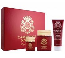 ENGLISH LAUNDRY CAMBRIDGE KNIGHT 3 PCS SET FOR MEN: 3.4 EAU DE PARFUM + 8 OZ BODY WASH + 0.68 EAU DE PARFUM