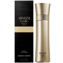 ARMANI CODE ABSOLU GOLD 3.7 PARFUM SPRAY FOR MEN