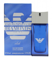 GIORGIO ARMANI EMPORIO DIAMONDS CLUB 1.7 EDT SP FOR MEN