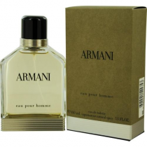 ARMANI POUR HOMME 3.4 EDT SP FOR MEN GREEN
