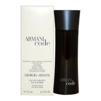 ARMANI CODE TESTER 2.5 EDT SP FOR MEN