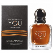 EMPORIO ARMANI STRONGER WITH YOU INTENSELY 3.4 EDP SP FOR MEN