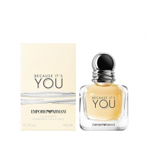 ARMANI EMPORIO BECAUSE IT'S YOU 1 OZ EDP SP