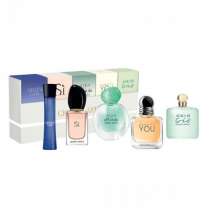 GIORGIO ARMANI 5 PCS SET FOR WOMEN