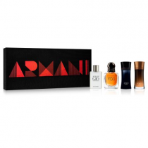 GIORGIO ARMANI 4 PCS SET FOR MEN