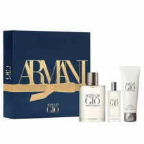ACQUA DI GIO 3 PCS SET FOR MEN: 3.4 EAU DE TOILETTE SPRAY + 0.5 EAU DE TOILETTE SPRAY + 2.5 SHOWER GEL