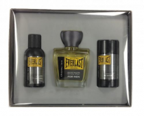 EVERLAST 3 PCS SET FOR MEN: 3.4 EDT SP