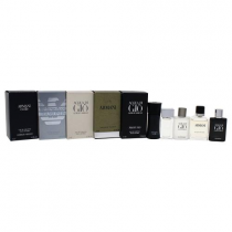 GIORGIO ARMANI 5 PCS MINI SET FOR MEN