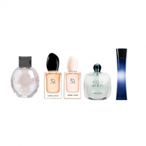 GIORGIO ARMANI 5 PCS SET MINI SET FOR WOMEN: ARMANI...