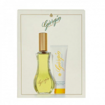GIORGIO BEVERLY HILLS 2 PCS SET: 3 OZ EDT SP + 1.7 BODY LOTION (YELLOW)