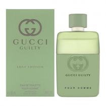 GUCCI GUILTY LOVE EDITION 1.6 EAU DE TOILETTE SPRAY FOR MEN