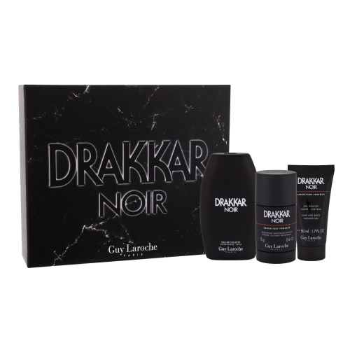 DRAKKAR NOIR 3 PCS SET: 3.4 SP