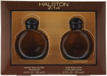 HALSTON Z-14 2 PCS SET FOR MEN: 4.2 COLOGNE SPRAY + 4.2 AFTER SHAVE