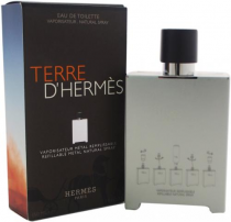 TERRE D'HERMES 5 OZ EDT SP REFILLABLE METAL