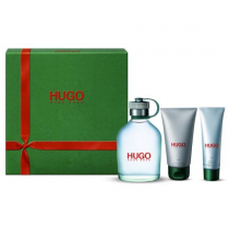 HUGO BOSS GREEN 3 PCS SET FOR MEN: 5 OZ SP