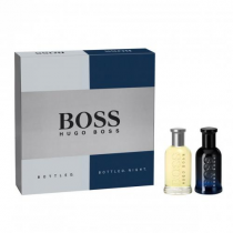 HUGO BOSS BOTTLED 2 PCS SET: BOTTLED 1 OZ EDT SP + BOTTLED NIGHT 1 OZ EDT SP