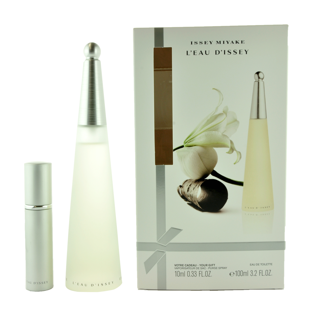 ISSEY MIYAKE 2 PCS SET FOR WOMEN: 3.4 EDT SP + 10 ML EDT SP
