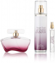 JENNIFER ANISTON NEAR DUSK 3 PCS SET: 2.9 EDP SP + 15 ML EDP SP + 8 OZ BODY MIST