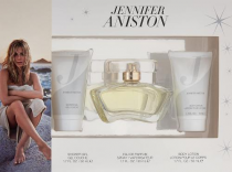 JENNIFER ANISTON 3 PCS SET: 1.7 EAU DE PARFUM SPRAY + 1.7 BODY LOTION + 1.7 SHOWER GEL (WINDOW BOX)