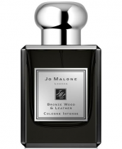 JO MALONE BRONZE WOOD & LEATHER INTENSE 1.7 EAU DE COLOGNE SPRAY