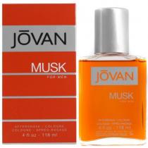 JOVAN MUSK 4 OZ AFTERSHAVE SPLASH