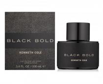 KENNETH COLE BLACK BOLD 3.4 EDP SP FOR MEN