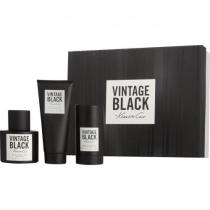 KENNETH COLE VINTAGE BLACK 3 PCS SET FOR MEN: 3.4 SP