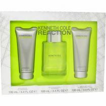 KENNETH COLE REACTION 3 PCS SET FOR MEN: 3.4 SP