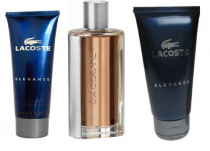 LACOSTE ELEGANCE 3 PCS SET FOR MEN: 3.0 EDT SP